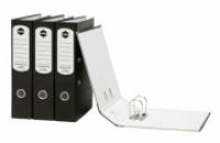 Marbig Lever Arch File Board Economy Fcap Mottly-Black 63045P
