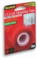 Scotch Clear Mounting Tape 4010 25.4mmx1.51M
