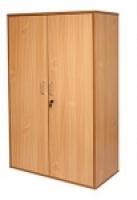 Rapid Span Stationery Cupboard H1800 3 shelf Beech