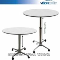 Visionchart Breakroom Meeting Table Height Adjustable 750-1120mm