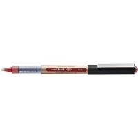Uniball UB150 Broad 1.0mm Liquid Ink Rollerball Pen BX12 Red