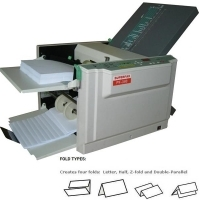 SUPERFAX PF340 A4 Paper Folder folds up to 7800 per hour MPF340