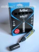 Artline Whiteboard Marker 577 Bullet Point Black BX12