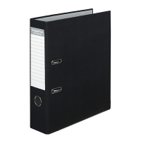 ColourHide A4 PE Lever Arch Files BX6 Black