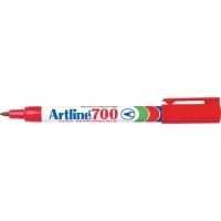 Artline 700 Marker Permanent Fine Bullet Red