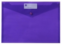 Marbig Doculope Wallet +Button 2015019 A4 Purple PK10