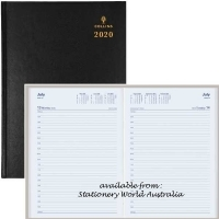 2021 Collins Sterling Diary A4 1 Day/Page Black 144.P99
