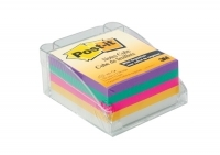 3M Post It Notes 5431 Memo Cube with Dispenser - Brights