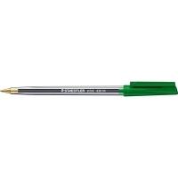 Staedtler Stick Ballpoint Pen 430M BX10 Med Green