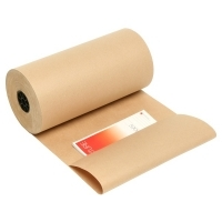 Marbig Brown Kraft Paper Counter Roll 65gsm 848010 450mm x 340M