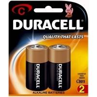 Duracell Battery Coppertop Alkaline C Card 2
