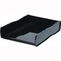 Esselte Nouveau document Tray Stackable 46795 Black