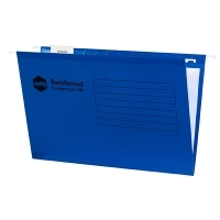 Marbig Suspension Files Incl.Tabs & Inserts BX25 Blue