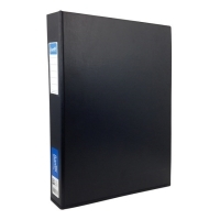 Bantex Ring Binder A3 Upright 4D 38mm (300p) Black BX8