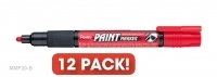 Pentel MMP20-B Paint Marker Red BX12