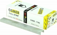 Osmer 26/6 Standard Staples 7163 Full Strip Box of 5000