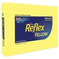Reflex Tint Coloured Paper A3 80gsm Yellow