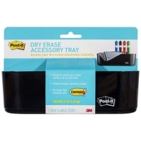3M Post-it Dry Erase Surface Adhesive Accessory Tray