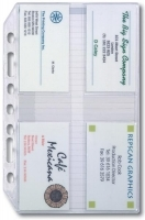 Dayplanner Refills EX5004 A4 Credit/Business Card Holder pk3
