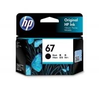 HP Ink Cartridge 67 3YM56AA Black