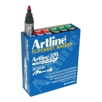Artline Flipchart Marker 370 Assorted BX12