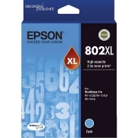 Epson Ink Cartridge 802XL Cyan
