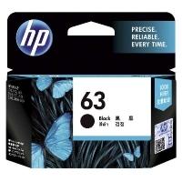 HP Ink Cartridge 63 F6U62AA Black