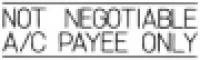 XSTAMPER STAMP - Not Neg.A/C Payee Only 1018 (5010181)