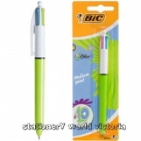 BIC 4 Colour Fashion Retractable Ballpoint Pen 2053