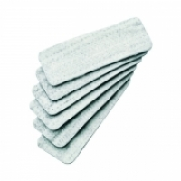 Quartet Magnetic Whiteboard Eraser Refills Pk6 QTMAGREFILLS