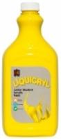 Liquicryl Junior Student Acrylic Paint 2L Brilliant Yellow