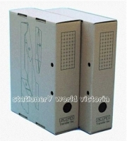 Acorn Transfer File Box FC30032 Foolscap Pack of 25