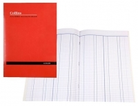 Collins A24 Account Book A4 24 leaf Double Ledger