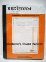 Invoice Book Duplicate Rediform Large SRB207L