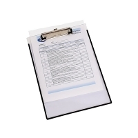 Marbig Clipboard A4 Clearview with Insert Cover 4320012
