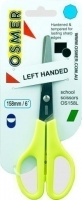 Osmer Left Handed School Scissors OS158L 158mm Green