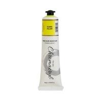 Chromacryl Student Acrylic Paint 75m Fluoro Yellow