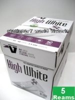 Victory A4 High White Paper 80gsm A(1Box-5reams)