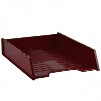Document Tray Italplast Stackable i60 (Standard) Burgundy