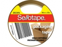 Sellotape Packaging Tape 175BR Brown 48mm x 50M