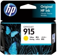 HP Ink Cartridge 915 Yellow  - 315 pages