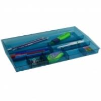 ITALPLAST DRAWER TIDY i70 (Tinted)  Blue