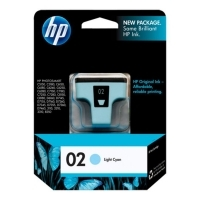 HP Ink Cartridge HP02 C8774WA Lt Cyan