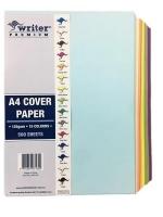 Writer Premium Cover Paper A4 125gsm Asstd 15 Colours Ream 500Sh
