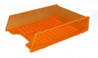 Document Tray Italplast Stackable i60 Neon Orange