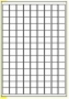 Custom Label 461 A4 BX100 126/sheet White 20x20