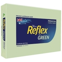 Reflex Tint Coloured Paper A4 80gsm Green