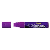 Texta Jumbo Liquid Chalk Wet Wipe Marker 15mm Purple