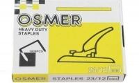 OSMER 23/12 Heavy Duty Staples Box of 1000