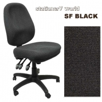 POSTUPRIGHT OFFICE CHAIR High Back PO500SF SF Black